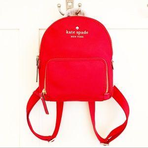 Kate Spade Watson Lane Hartley Red Mini Backpack